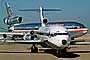 Jets lined up for take-off, American Airlines AAL, Boeing 727, Douglas DC-10, TAFV05P11_19B