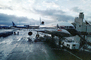 Pushback Tug, control tower, (SFO), Jetway, Airbridge