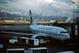 Boeing 737, America West Airlines AWE, Wasatch Mountain Range