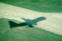 Boeing 747, Gatwick, London, England, Take-off Shadow