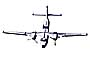 de Havilland Caribou, photo-object, object, cut-out, cutout
