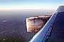 Lockheed L-1011, Wing, Jet, engine, Lone Wing in Flight