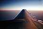 Boeing 737, Southwest Airlines SWA, Lone Wing in Flight