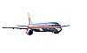 American Airlines AAL, Boeing 757 photo-object, object, cut-out, cutout, TAFV11P06_12F