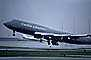 N106UA, United Airlines UAL, Boeing 747, (SFO), rain, inclement weather, wet
