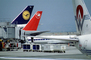 San Francisco International Airport (SFO), Lufthansa, America West Airlines AWE, Northwest Airlines NWA
