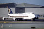 9V-SPE, Boeing 747-412, Singapore Airlines SIA, (SFO), 747-400 series, PW4056, PW4000
