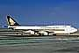 Boeing 747-412, Singapore Airlines SIA, 9V-SPE, San Francisco International Airport (SFO), 747-400 series, PW4056, PW4000, TAFV16P11_11B