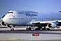 N754PR, Boeing 747-469, Philippine Airlines PAL, (SFO), CF6, 747-400 series, CF6-80C2B1F