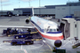 Beltloader, terminals, jetway, American Airlines AAL, Douglas DC-9, San Francisco International Airport (SFO), Airbridge, TAFV16P15_09