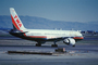 N711ZX, Trans World Airlines TWA, Boeing 757-231, (SFO), PW2037, PW2000, January 2000