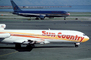 N296SC, Boeing 727-224A, (SFO), Sun Country Airlines, JT8D, 727-200 series