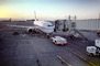 Boeing 737, Alaska Airlines ASA, Pusher tug, jetway, Airbridge, tractor, TAFV20P03_06