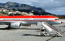 D-AMUM, LTU Airways, Boeing 757-2G5F, Funchal Madeira, RB211-535 E4, RB211, Mobile Stairs, Rampstairs, ramp