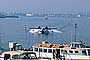 Los Angeles Harbor, Catalina Airlines, Seaplane, Amphibian, Pontoons, Flying Boat, Floatplane, Grumman, G21 Goose, twin engine prop, Float Plane, Aviation, Prop, Propeller, Piston, Fixed wing multi engine