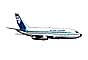 ZK-NAR, Boeing 737-219, 737-200 series, Air New Zealand, photo-object, object, cut-out, cutout
