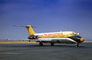 N8961, Black Nose, Air California ACL, Douglas DC-9-14, JT8D-7B s3, JT8D, milestone of flight