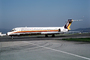 JA8281, McDonnell Douglas MD87, Japan Air System
