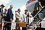 Boarding Passengers, Men, Suits, Steps, National Airlines NAL, 1950's, TAFV40P12_05