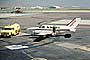 N2716L, West Air, Cessna 402C, Gas Truck, Refueling, Fuel, Fueling, tanker, June 1980, 1980's, TAFV41P06_17