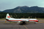 N6106A, Smileliner, Lockheed L-188A Electra, California, Annie, Lake Tahoe Airport TVL, TAFV48P09_18