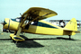 N77655, Fairchild 24W-46, F-24, F-24W, yellow