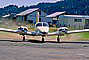 Piper PA-34, N999CP, Calistoga Airfield, buildings