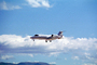 N620JF, Learjet-60, clouds, Learjet 60