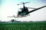 Crop Dusting, Aerial Spraying, Pesticide, Hiller UH-12, Central Valley, TAHV01P11_19