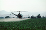 Crop Dusting, Aerial Spraying, Pesticide, Hiller UH-12, Central Valley, sprayer, TAHV01P12_03