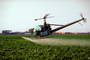Crop Dusting, Aerial Spraying, Pesticide, Hiller UH-12, Central Valley, sprayer, TAHV01P12_04