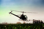 Crop Dusting, Aerial Spraying, Pesticide, Hiller UH-12, Central Valley, Herbicide, Insecticide, sprayer, TAHV01P12_18