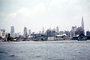 New York Airways, skyline, cityscape, docks, harbor, NYC, July 1959, 1950's, NYA