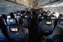 Seats, Aisle, Aircraft Interior, Screens, Monitors, TAID01_081