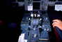 instruments, dials, avionics, levers, knobs, Airbus A320 series cockpit