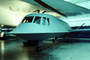 Northrop Tacit Blue, head-on, Technology Demonstrator Aircraft, DARPA, USAF, Museum, milestone of flight
