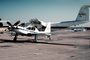 N718NA, Lockheed YO-3A, Quiet Star, NASA, silent airplane, propeller, 718, 02/1987, 1980's, TARV03P10_17