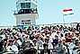 Crowds, Audience, Spectators, people, stands, flags, Reno Airshow, TASV03P05_12