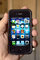 Iphone, I-phone, cell phone, hand held device, hand, fingers, monitor, cloud computing, Iphone-4s, TECD01_029