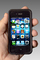 Iphone, I-phone, cell phone, hand held device, hand, fingers, monitor, cloud computing, Iphone-4s, TECD01_029B