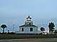 Halfmoon Reef Lighthouse, Port Lavaca, Texas, Gulf Coast, TLHD03_138