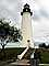 Port Isabel Lighthouse, Point (Port) Isabel, Texas, Gulf Coast, TLHD03_146