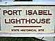 Port Isabel Lighthouse, Point (Port) Isabel, Texas, Gulf Coast, TLHD03_151
