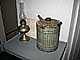 Kerosene Lamp, paraffin lamp, lanter, Drum Point Lighthouse, 1883-1962, Solomons, Patuxent River, Maryland, Atlantic Ocean, Eastern Seaboard, East Coast, TLHD05_118