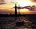 Buffalo Main Lighthouse, Lake Erie, New York State, Great Lakes, TLHV05P02_01