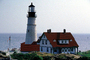 Portland Head Light, Fort Williams Park, Cape Elizabeth, Maine, East Coast, Eastern Seaboard, Atlantic Ocean, TLHV07P10_07