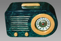 "FADA Radio, Art Deco, ""Bullet"" Streamliner Model 1000, Catalin, Bakelite, Plastic, 1940's"