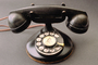Dial Phone, Rotary, Bakelite, antique, 1950's