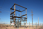 Transformer Cage, Sunshine Substation, APS, near Flagstaff, Arizona, TPDD01_013