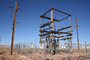 Transformer Cage, Sunshine Substation, APS, near Flagstaff, Arizona, TPDD01_014
